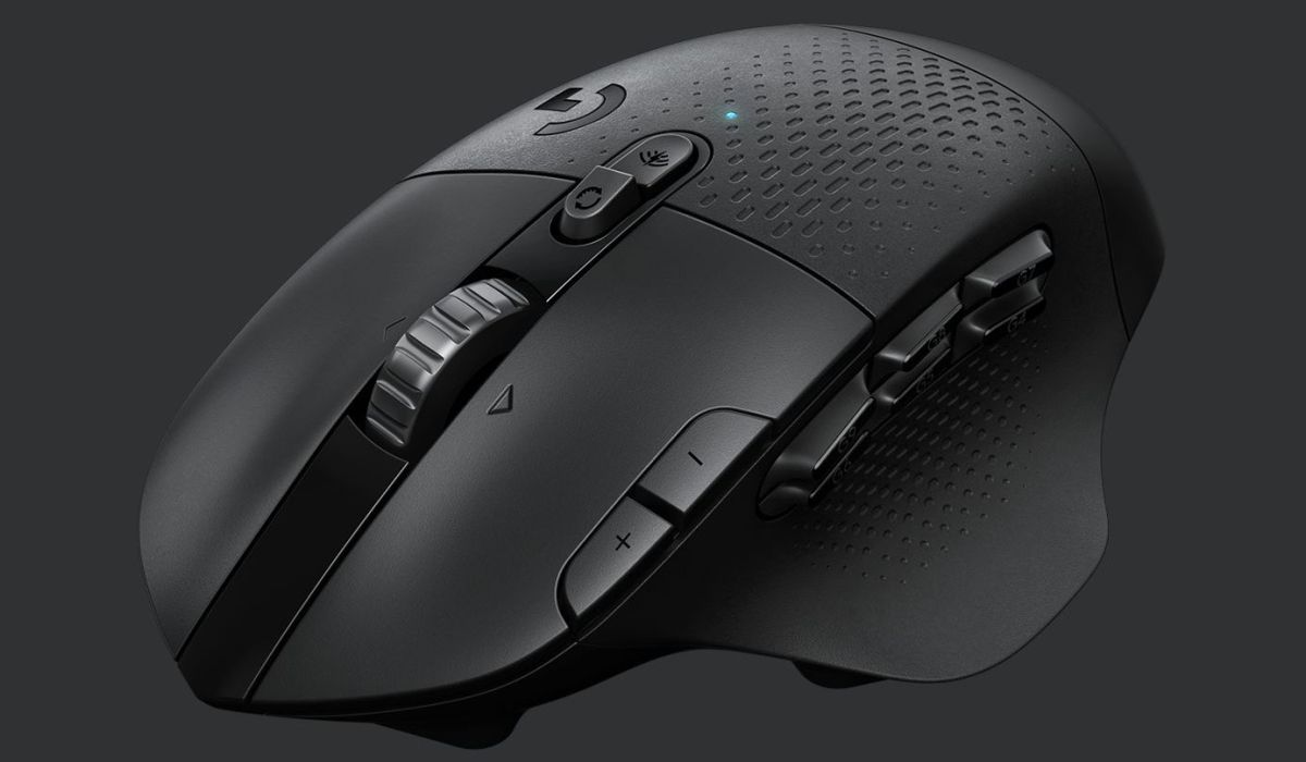 Logitech says its new wireless gaming mouse lasts 240 hours on a single AA battery - PC Gamer