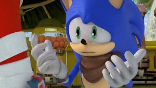 Sad Sonic