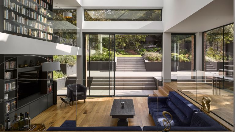 London home with modern extension