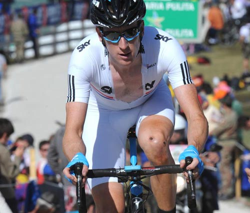Bradley Wiggins, Giro d'Italia 2010, stage 16 TT