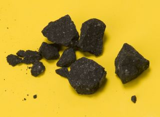 Sutter's Mill Meteorite Fragments