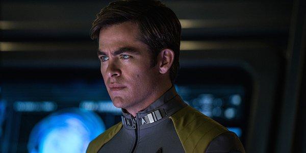 Chris Pine as Captain Kirk in Star Trek: Beyond