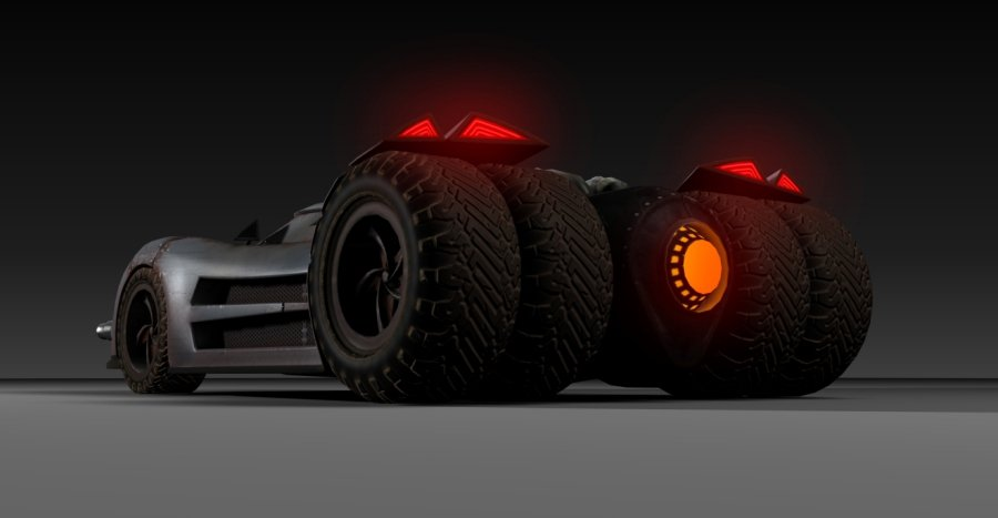 Fire And Forget Vehicle Looks Like Batman's Tumbler In New Screenshots #26485