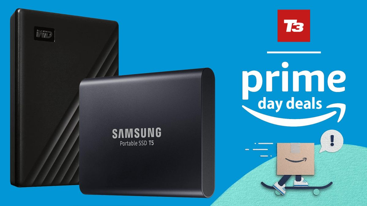 Solve the PS5's biggest problem with these external hard drive Prime Day deals