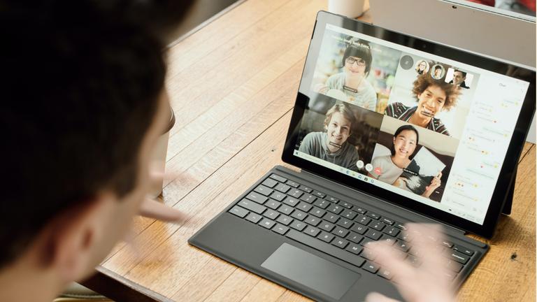 Google Meet video calling