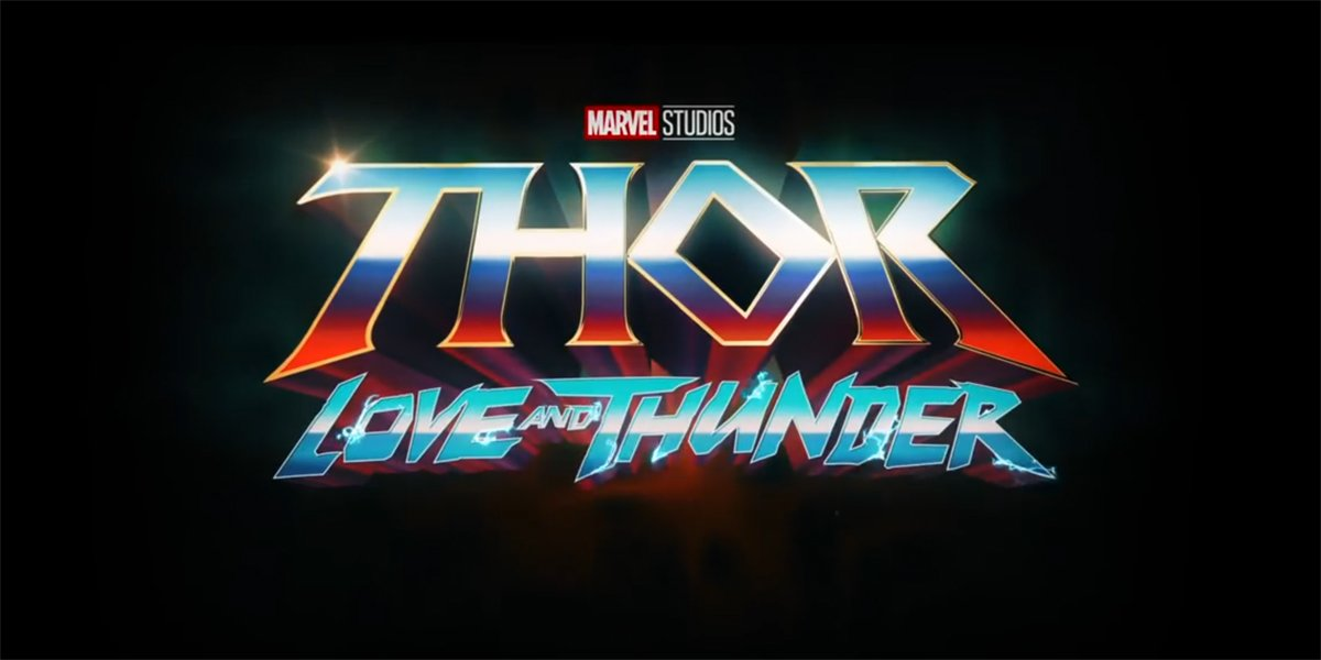 Thor Love And Thunder Title Card Marvel Studios