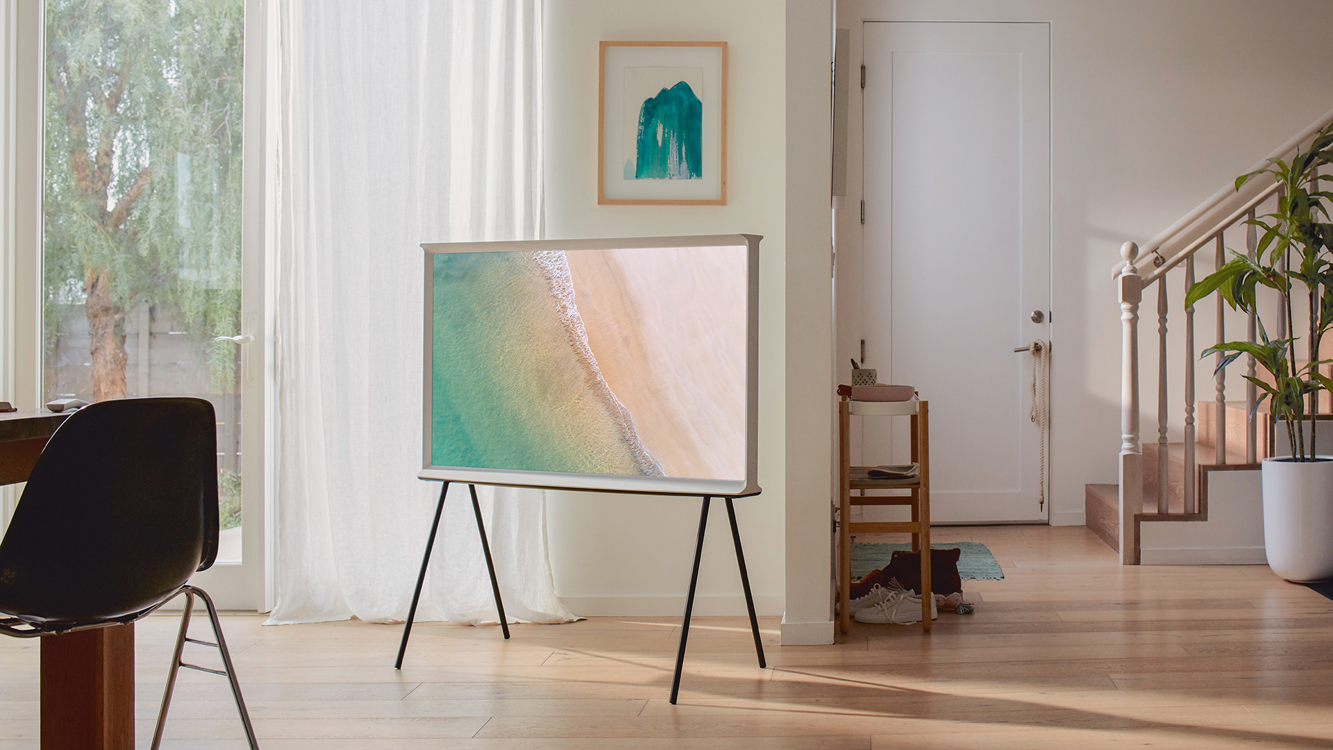 Samsung S Stylish Serif And Frame Design Tvs Now In Sizes For Every Living Room Techradar