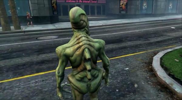 GTA Online Aliens