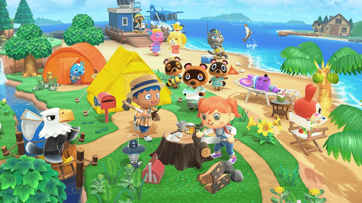 Your friends can't destroy your Animal Crossing: New Horizons island