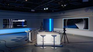 PPDS Q-Line and X-Line displays at La Télé studios