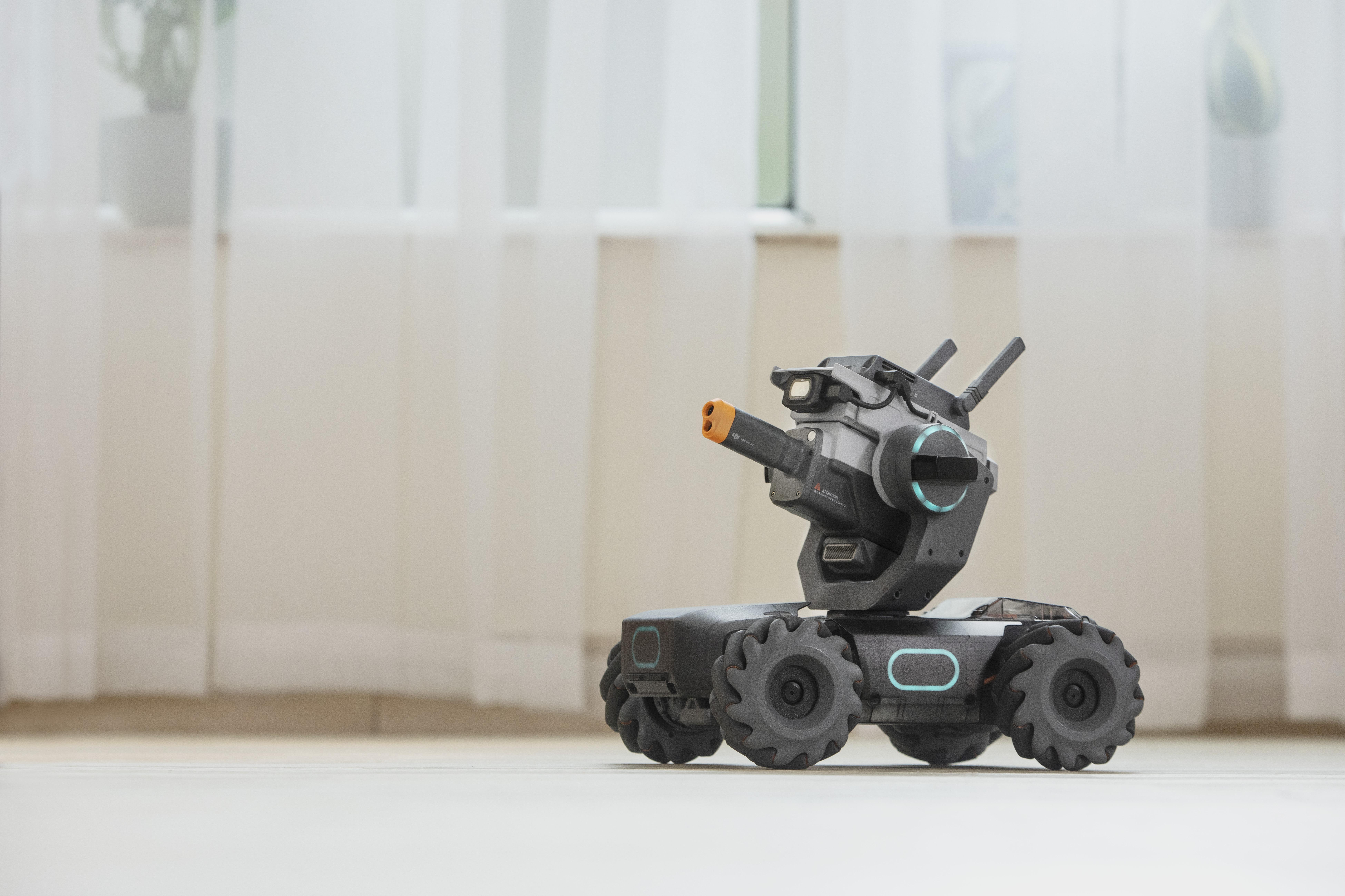 Meet the DJI RoboMaster S1, a mini tank drone and Trojan