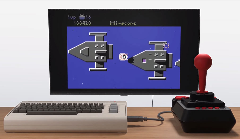 Commodore 64 is returning as a mini console with dozens of
