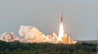 Ariane 5 rocket lauch