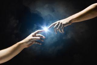 "Michelangelo's ""God's Touch"""
