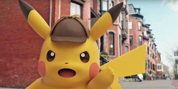 Detective Pikachu game commercial