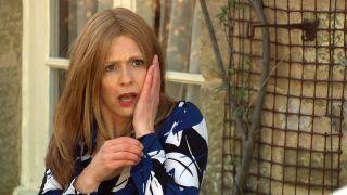 Shocked Leyla slaps Bernice in Emmerdale