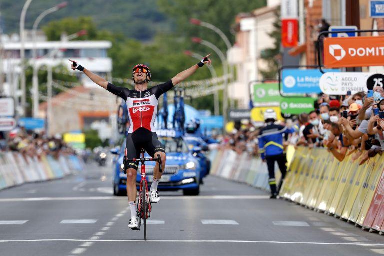 Critérium du Dauphiné 2021 stage one