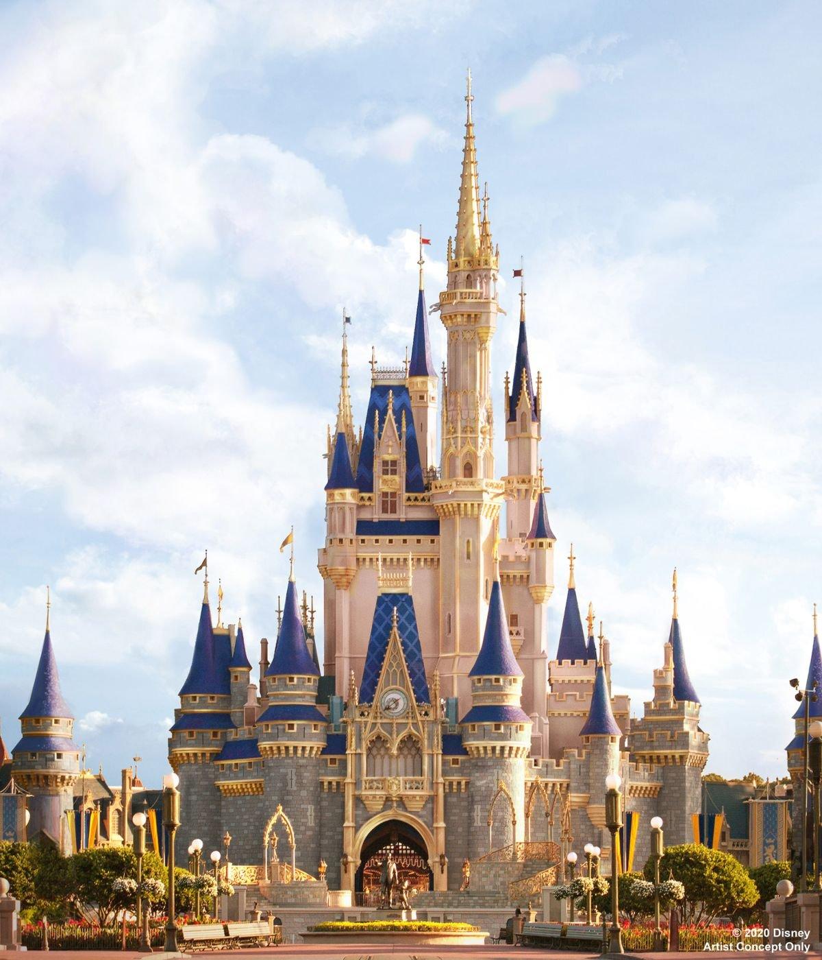 Cinderella Castle Concept art