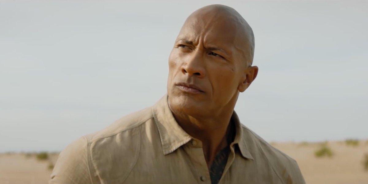 Dwayne Johnson as Smolder Bravestone in Jumanji: The Next Level