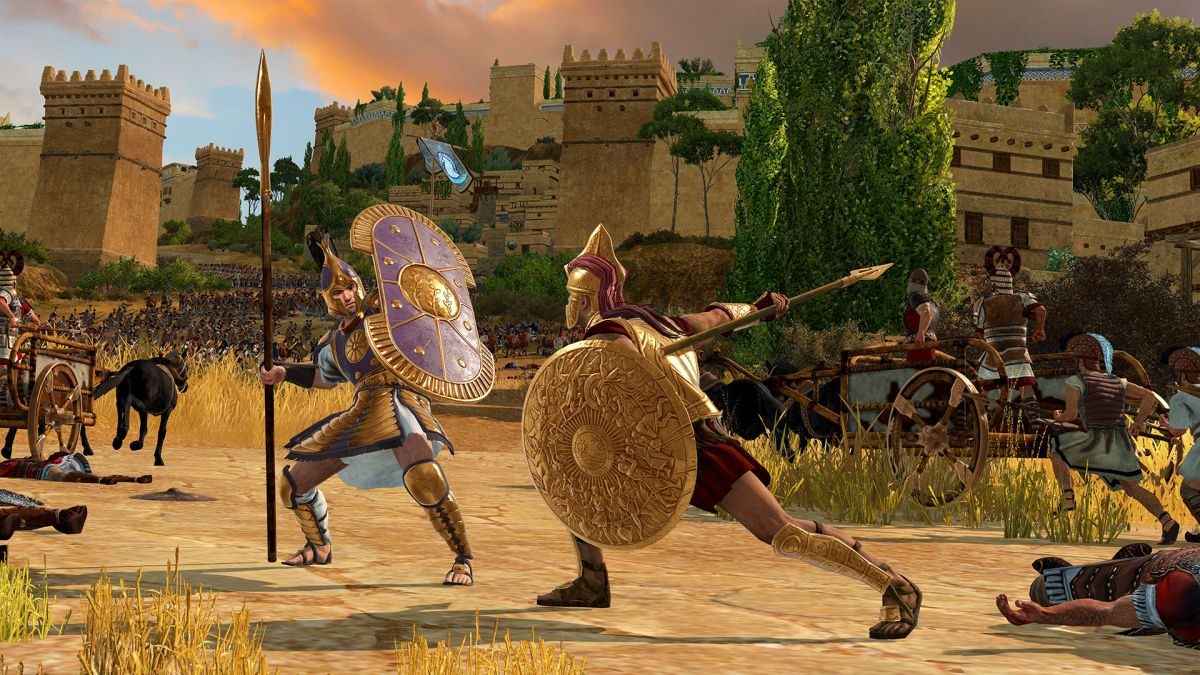 How Total War Saga: Troy uses the infamous Trojan Horse