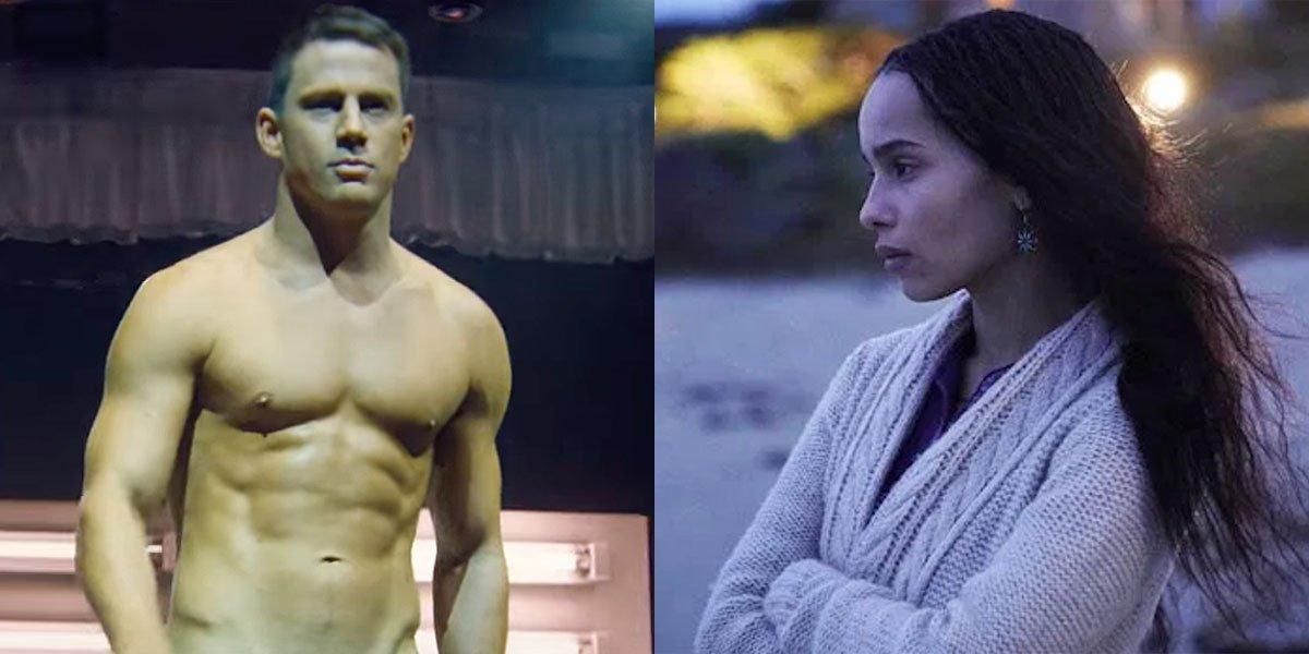 Channing Tatum and Zöe Kravitz in new movie togehr