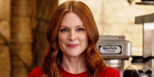 Julianne Moore as Poppy in The Golden Circle