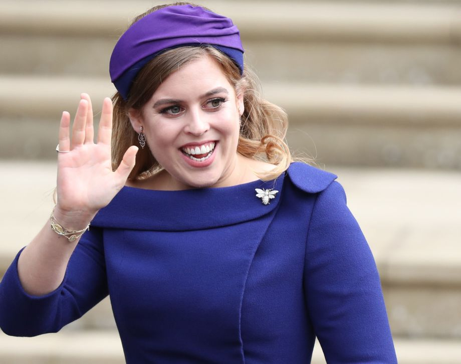 4ab40876a0ad8e What did Maid of Honour Princess Beatrice wear to her sister's wedding?