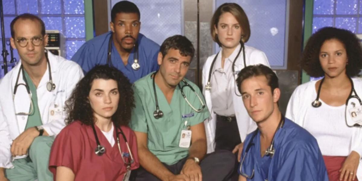 Some of the main cast of E.R.
