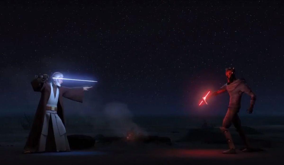 Obi-Wan vs. maul