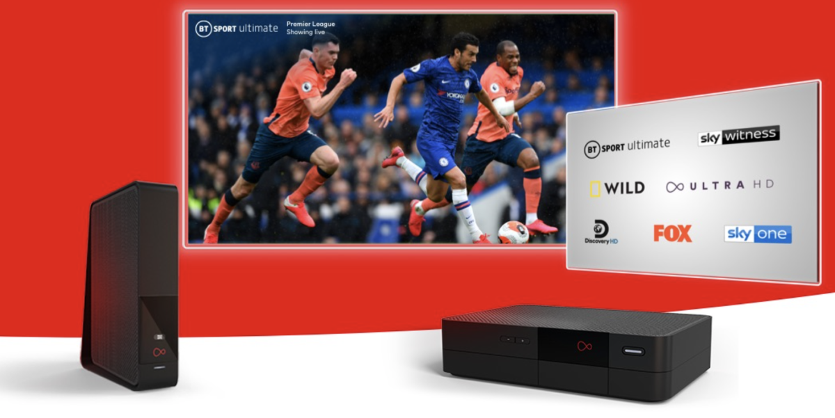 Virgin Media's Broadband and Sky Sports bundle is just £65/month right now