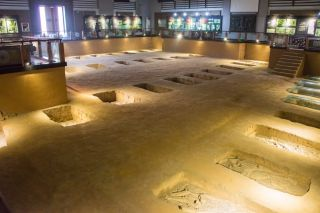 Human sacrifice victims buried at the Shang Dynasty Royal Cemetery were kept as slaves before being killed, archaeologists have found.