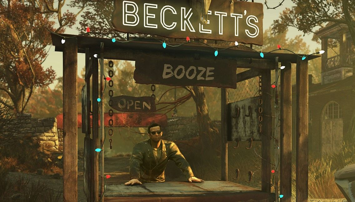 Fallout 76 Wastelanders will let you recruit (and maybe seduce) a bartender for your camp