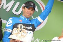 Alex Rasmussen (Garmin-Barracuda) took second in the sprint in the GP de Denain