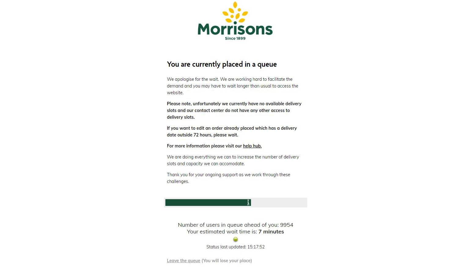 Morrisons delivery