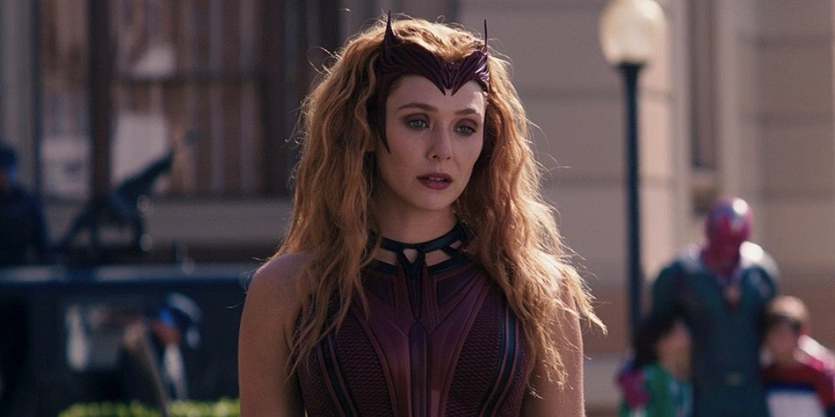 Elizabeth Olsen as The Scarlet Witch