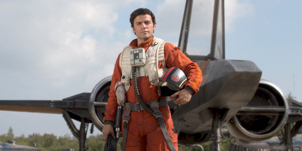 Poe Dameron in X-wing pilot uniform