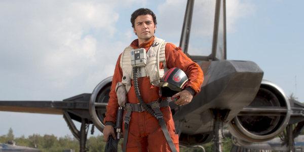 Poe Dameron in X-wing pilot uniform