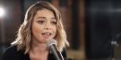 Watch Modern Family's Sarah Hyland Sing Backup In Acoustic Closer Cover