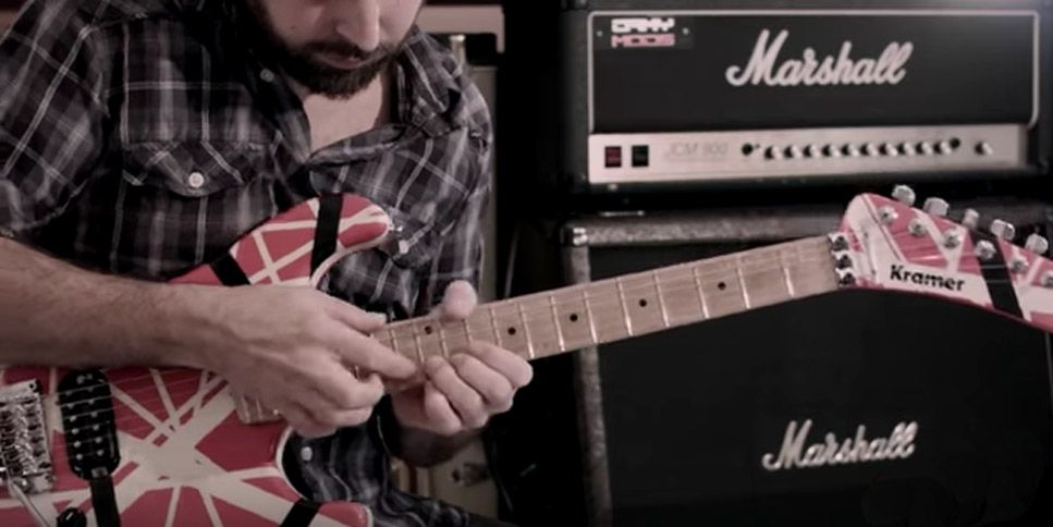 how to play eddie van halen 39 s beat it guitar solo guitarworld. Black Bedroom Furniture Sets. Home Design Ideas