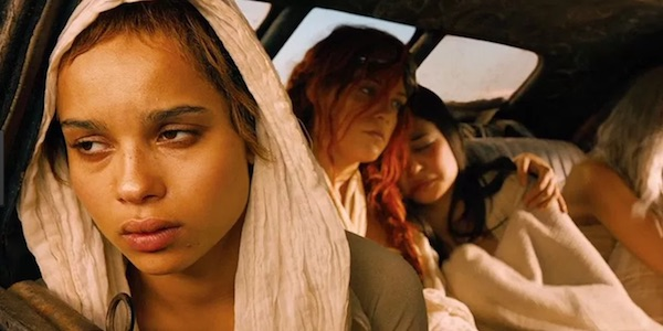 Zoe Kravitz as Toast in Mad MAx