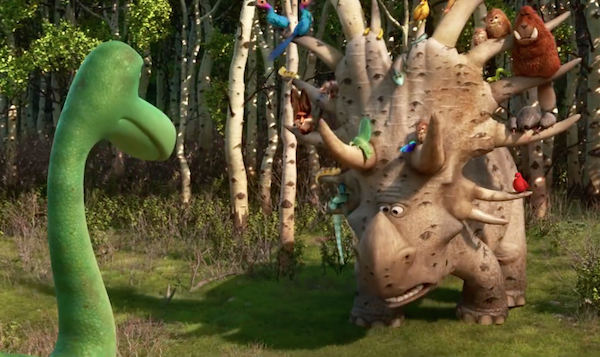 The Good Dinosaur triceratops