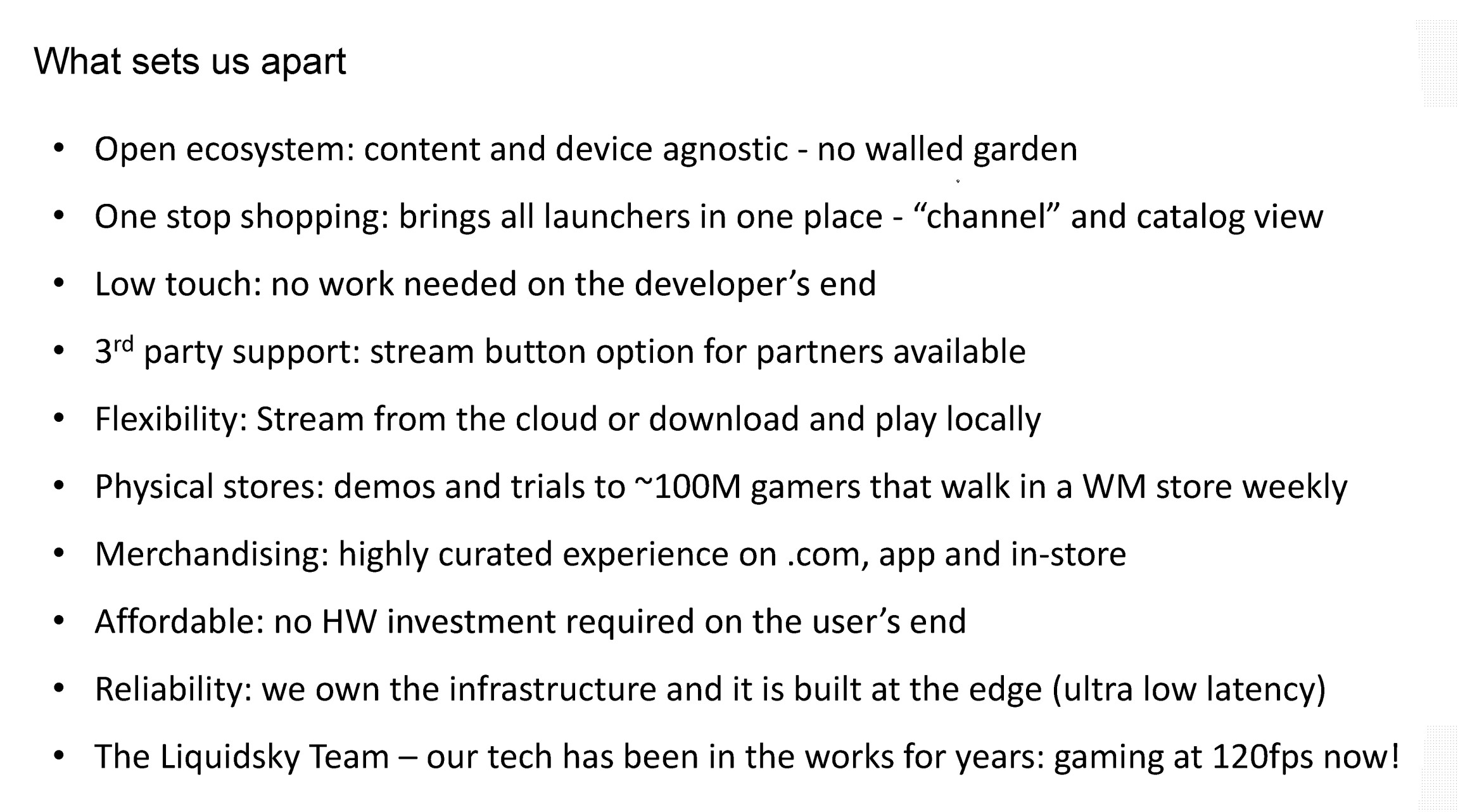Walmart cloud gaming documents from Epic v. Apple