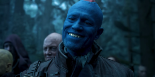 Michael Rooker smiling in Guardians Of The Galaxy 2