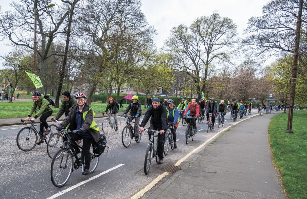 e54b9c2abe66 Twenty protest groups to take to Scottish streets requesting cycling  investment