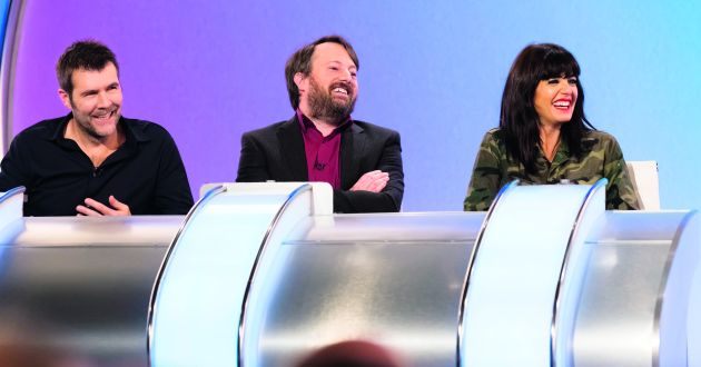 David Mitchell, Lee Mack, Rob Brydon, these are funny people.