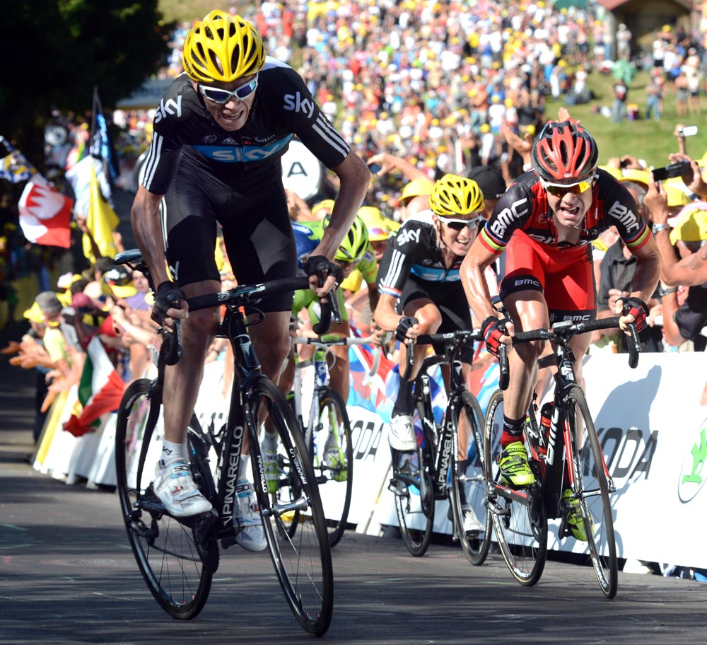 8d72b471c Wiggins takes yellow as Froome wins stage - Cycling Weekly