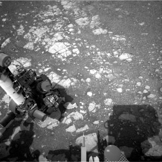 NASA's Mars rover Curiosity Navcam image
