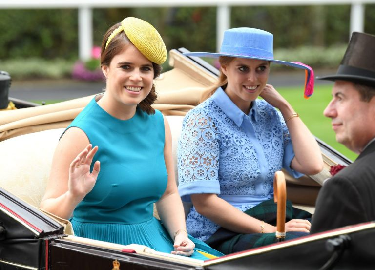 Princess Beatrice, Princess Eugenie