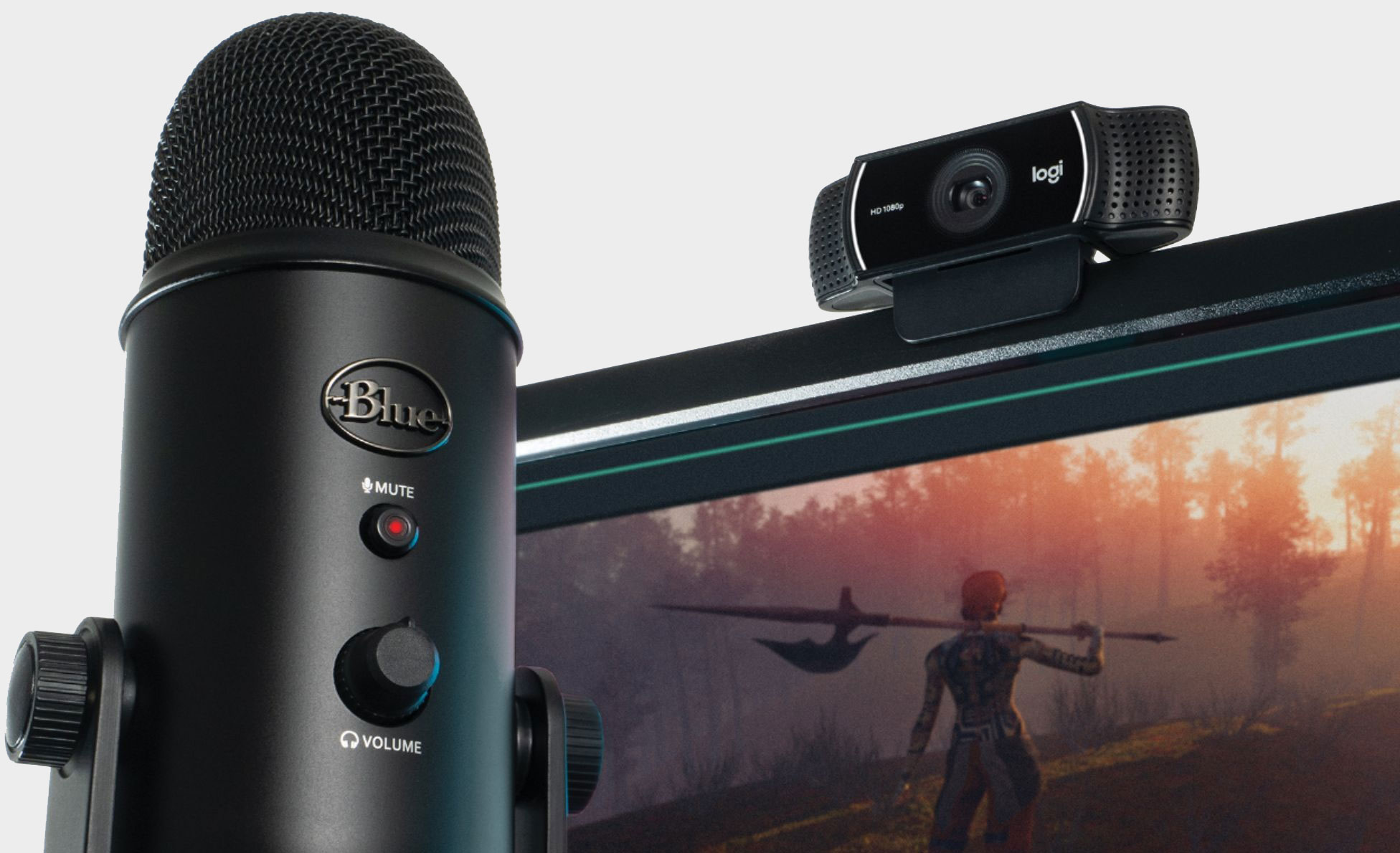 Get A Blue Yeti Microphone And Logitech C922 Pro Webcam For 129