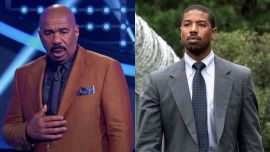 Why Steve Harvey Was Sus About Michael B. Jordan When Actor First Started Dating Lori Harvey